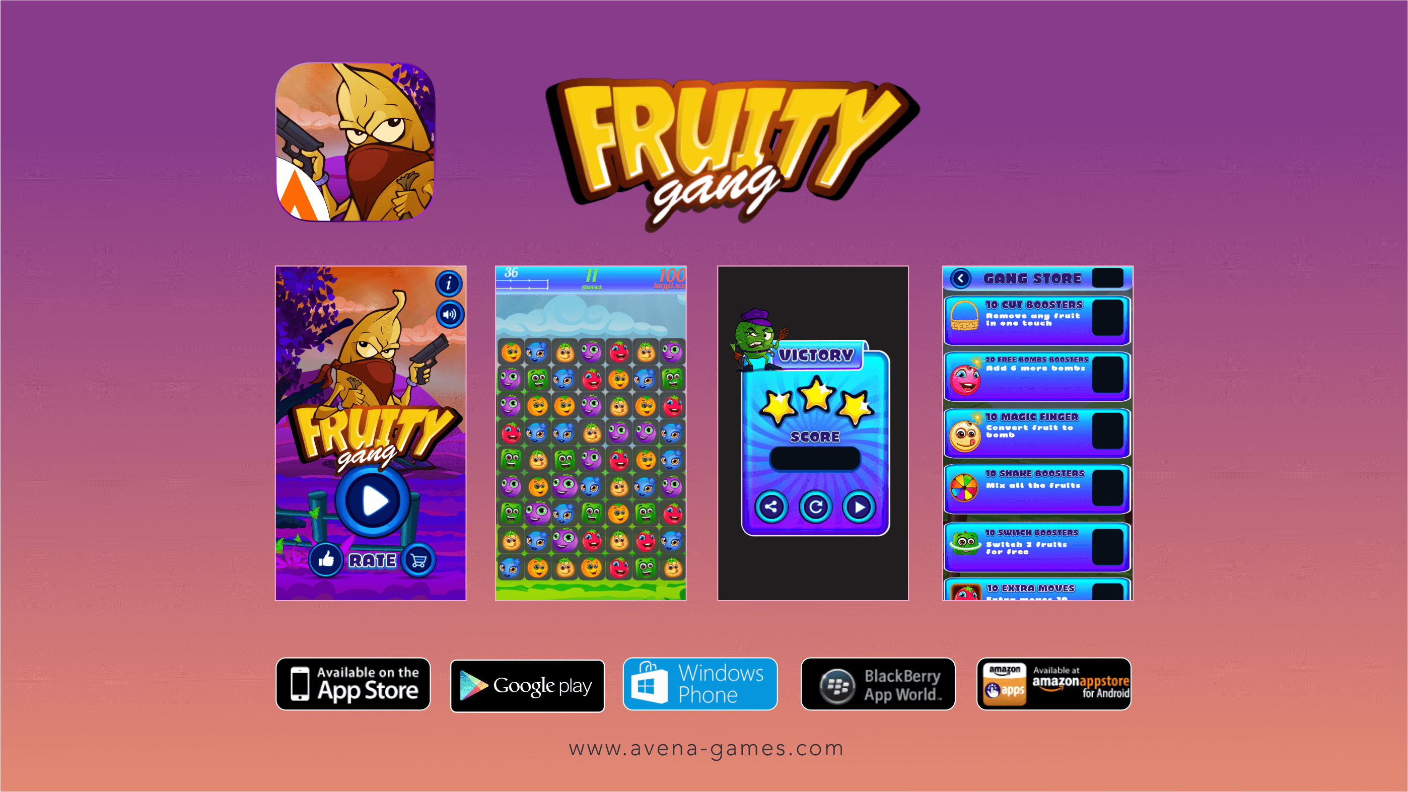 fruity gang screen