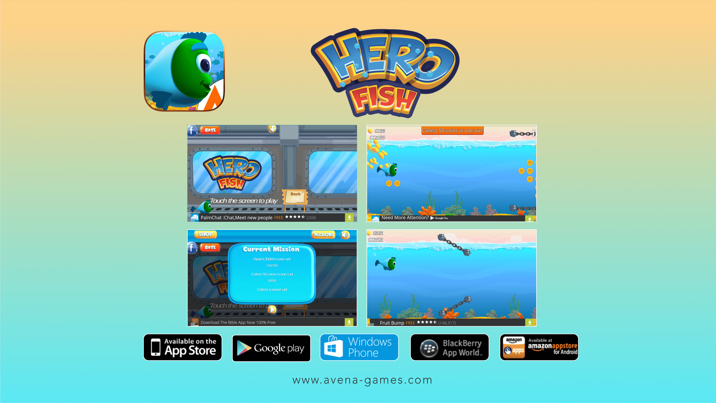 Hero fish screen